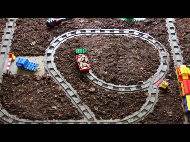Lego Train Set Duplo Stop Motion
